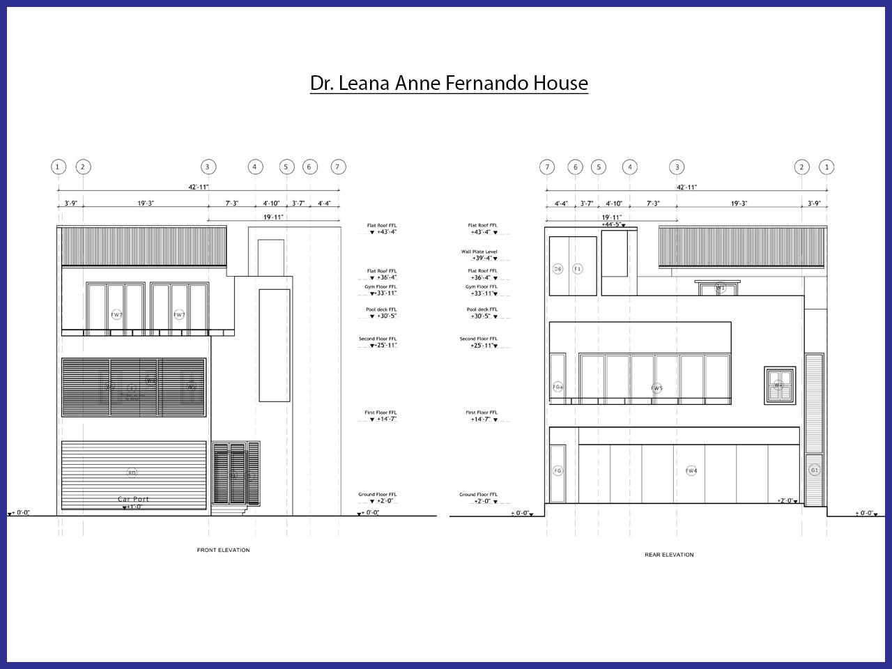 Dr. Leana Anne Fernando House